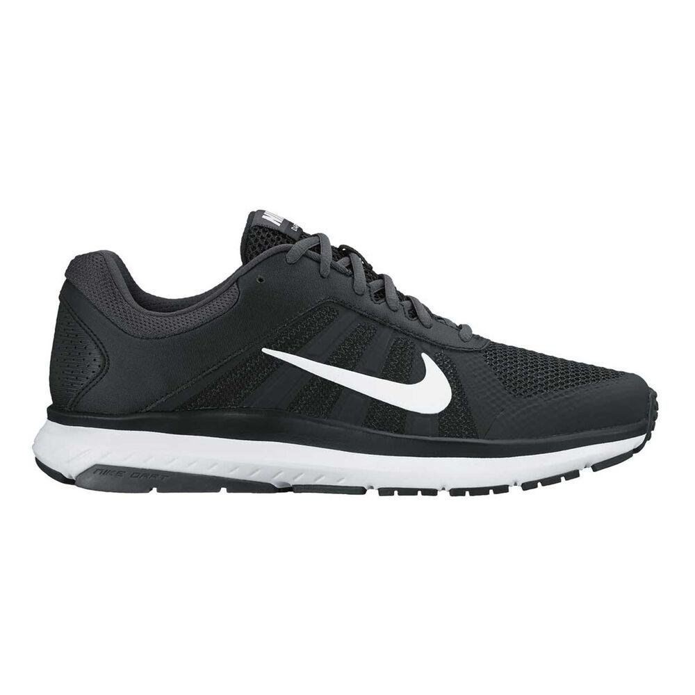 5b1daab1b25 Nike Dart 12 Mens Running Shoes Black   White US 10