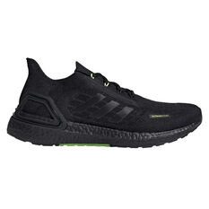 adidas Ultraboost S.RDY Mens Running Shoes Black/Green US 7, Black/Green, rebel_hi-res