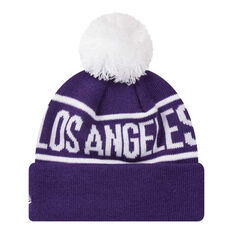Los Angeles Lakers 2019 Kids New Era Knits On Fire Beanie, , rebel_hi-res