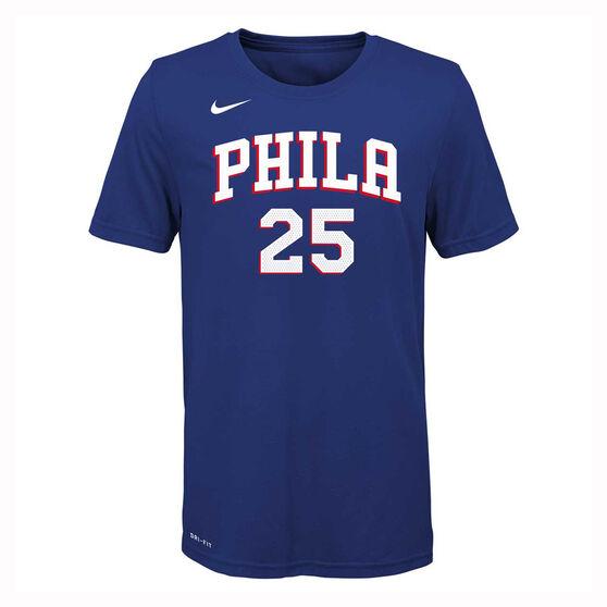 Nike Kids Philadelphia 76ers Ben Simmons Dry Tee, , rebel_hi-res