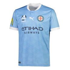Melbourne City FC 2020/21 Kids Home Jersey Blue S, Blue, rebel_hi-res
