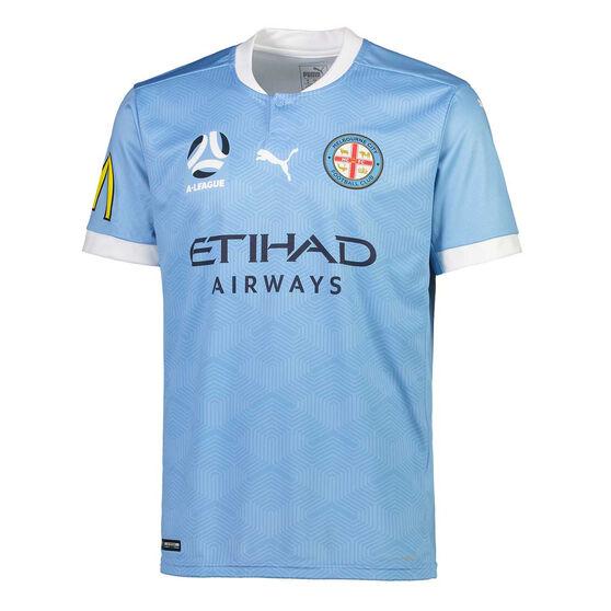 Melbourne City FC 2020/21 Kids Home Jersey, Blue, rebel_hi-res