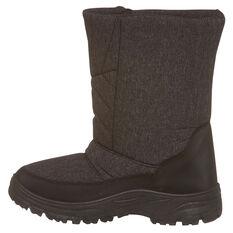 Tahwalhi Low Roll Mens Snow Boots, Brown, rebel_hi-res