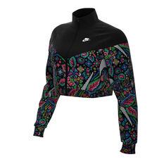 Nike Womens Sportswear Printed Jacket Print XS, Print, rebel_hi-res