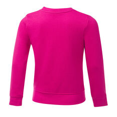Nike Girls VF Futura Sweatshirt Pink 4, Pink, rebel_hi-res