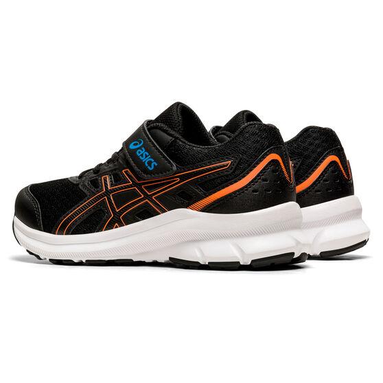Asics Jolt 3 Kids Running Shoes, Black/Blue, rebel_hi-res