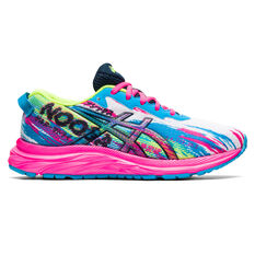 Asics GEL Noosa Tri 13 Kids Running Shoes Pink US 1, Pink, rebel_hi-res
