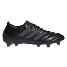 adidas Copa 19.1 Football Boots Black / Silver US Mens 7 / Womens 8, Black / Silver, rebel_hi-res