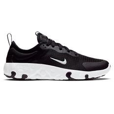 Nike Renew Lucent Kids Running Shoes Black / White US 4, Black / White, rebel_hi-res