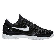 Nike Zoom Cage 3 Mens Tennis Shoes Black US 7, Black, rebel_hi-res