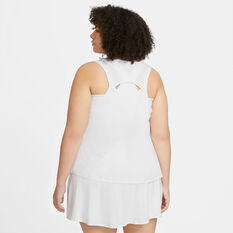 NikeCourt Womens Victory Tennis Tank White XS, White, rebel_hi-res