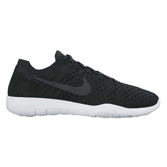 ffccfd790ca3 Nike Free TR Flyknit 2 Womens Training Shoes Black   White US 11 ...
