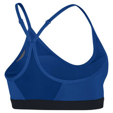 Nike Womens Indy Sports Bra Blue / Black XS, Blue / Black, rebel_hi-res