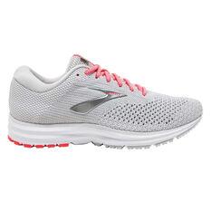 Brooks Revel 2 Womens Running Shoes Grey US 6, Grey, rebel_hi-res