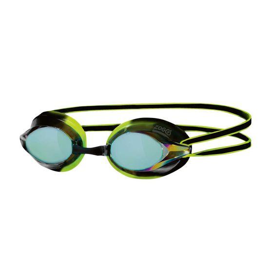 Zoggs Racespex Rainbow Mirror Senior Swim Goggles Assorted, , rebel_hi-res