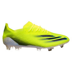 adidas X Ghosted .1 Football Boots, Yellow/Black, rebel_hi-res