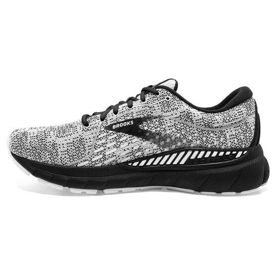 Brooks Adrenaline GTS 21 Mens Running Shoes, White/Grey, rebel_hi-res