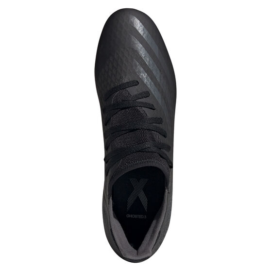 adidas X Ghosted.3 Football Boots, Black, rebel_hi-res