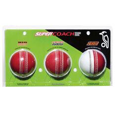 Kookaburra Supercoach 3 Cricket Ball, , rebel_hi-res