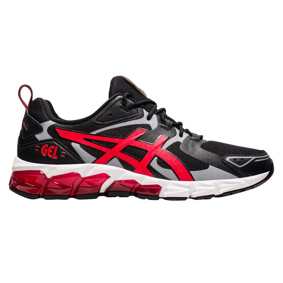Asics GEL Quantum 180 Mens Casual Shoes, Black/Red, rebel_hi-res