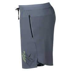 Nike Mens Wild Run Shorts Blue S, Blue, rebel_hi-res