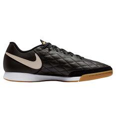 Nike Tiempo Legend 7 Academy 10R Indoor Soccer Shoes Black / Gold US Mens 7 / Womens 8.5, Black / Gold, rebel_hi-res