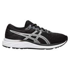Asics GEL Excite 7 Kids Running Shoes Black / White US 4, Black / White, rebel_hi-res