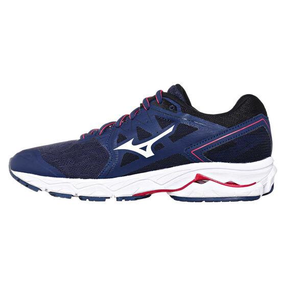 Mizuno Wave Ultima 10 Womens Running Shoes, Blue / White, rebel_hi-res