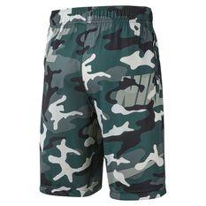 Nike Dri-Fit Boys Camo Shorts Green / Black XS, Green / Black, rebel_hi-res