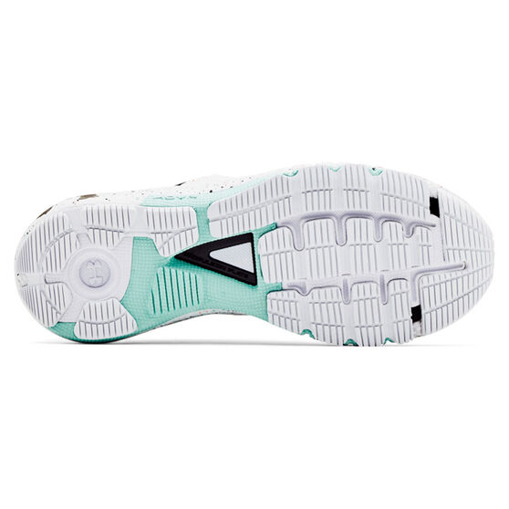 Under Armour HOVR Machina 2 Colourshift Womens Running Shoes, White/Black, rebel_hi-res