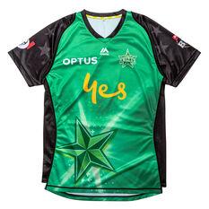 Melbourne Stars 2019 Mens Jersey Green S, Green, rebel_hi-res