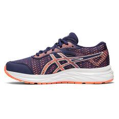 Asics GEL Excite 6 Kids Running Shoes Purple / Pink US 1, Purple / Pink, rebel_hi-res