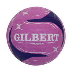Gilbert Pheonix Mini Netball Pink / Purple Mini, Pink / Purple, rebel_hi-res