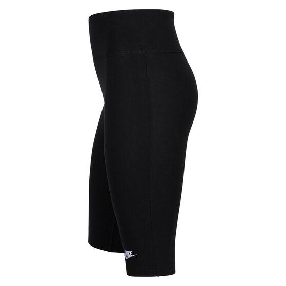 Nike Girls NSW 9inch Bike Shorts, Black, rebel_hi-res