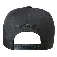 Brooklyn Nets Black On Black 110 Pinch Cap, , rebel_hi-res