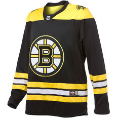 Boston Bruins Mens Replica Jersey Black S, Black, rebel_hi-res