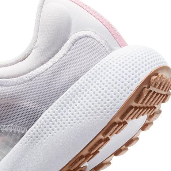 Nike React Escape Run Womens Running Shoes, White/Pink, rebel_hi-res