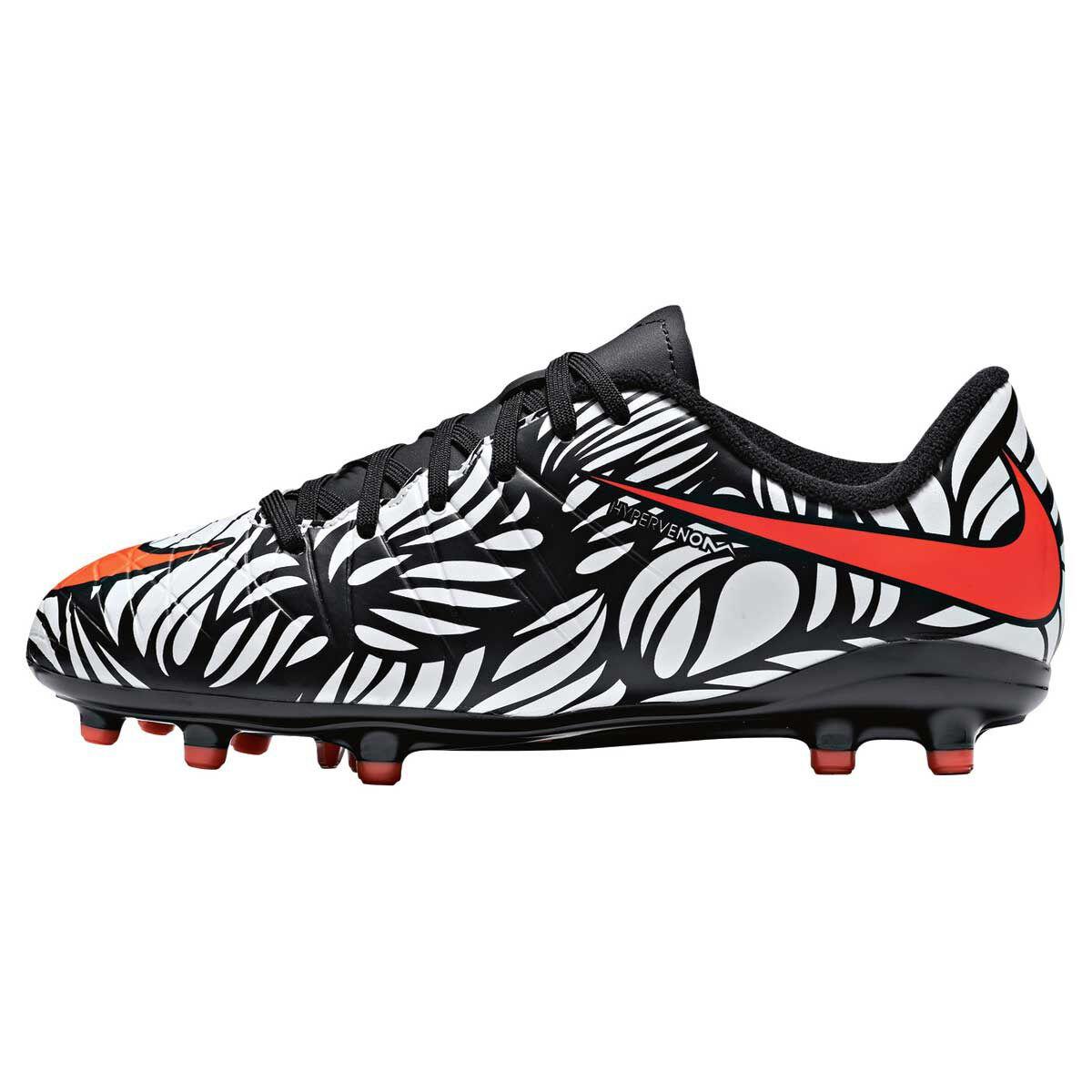 online store d00bf 9439b ... coupon code for nike neymar hypervenom phelon ii junior football boots  white black us 12 junior