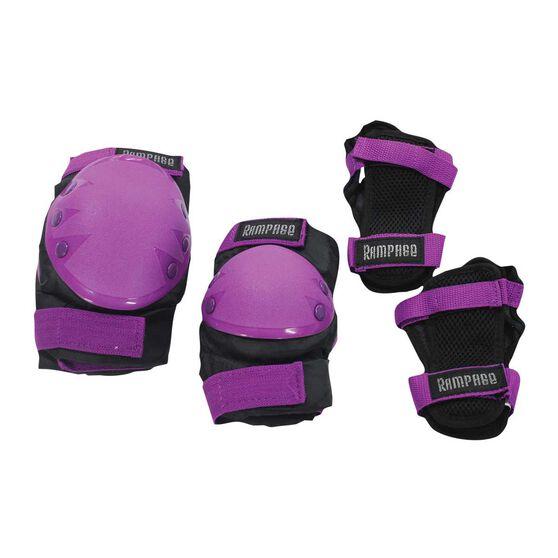 Rampage Inline 3 Pack Protection Kit, Purple, rebel_hi-res