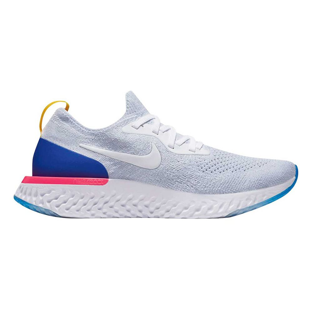 2f8282e7819a6 Nike Epic React Flyknit Kids Running Shoes White US 7