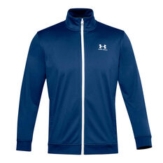 Under Armour Mens Sportstyle Tricot Jacket Blue XS, Blue, rebel_hi-res