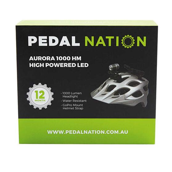 Pedal Nation Aurora 1000 Lumen LED Bike Light Black, , rebel_hi-res