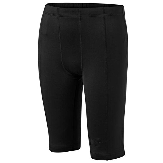 2XU Boys Compression Shorts, Black, rebel_hi-res
