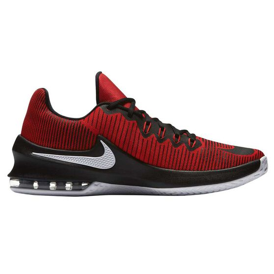 e3e8dfcdd93f18 Nike Air Max Infuriate Low Mens Basketball Shoes Red   Black US 14 ...