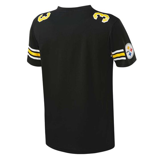 Pittsburgh Steelers Poly Mesh Tee, , rebel_hi-res