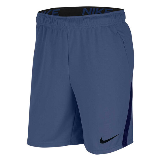 Nike Mens Dri-FIT Training Shorts, Navy, rebel_hi-res