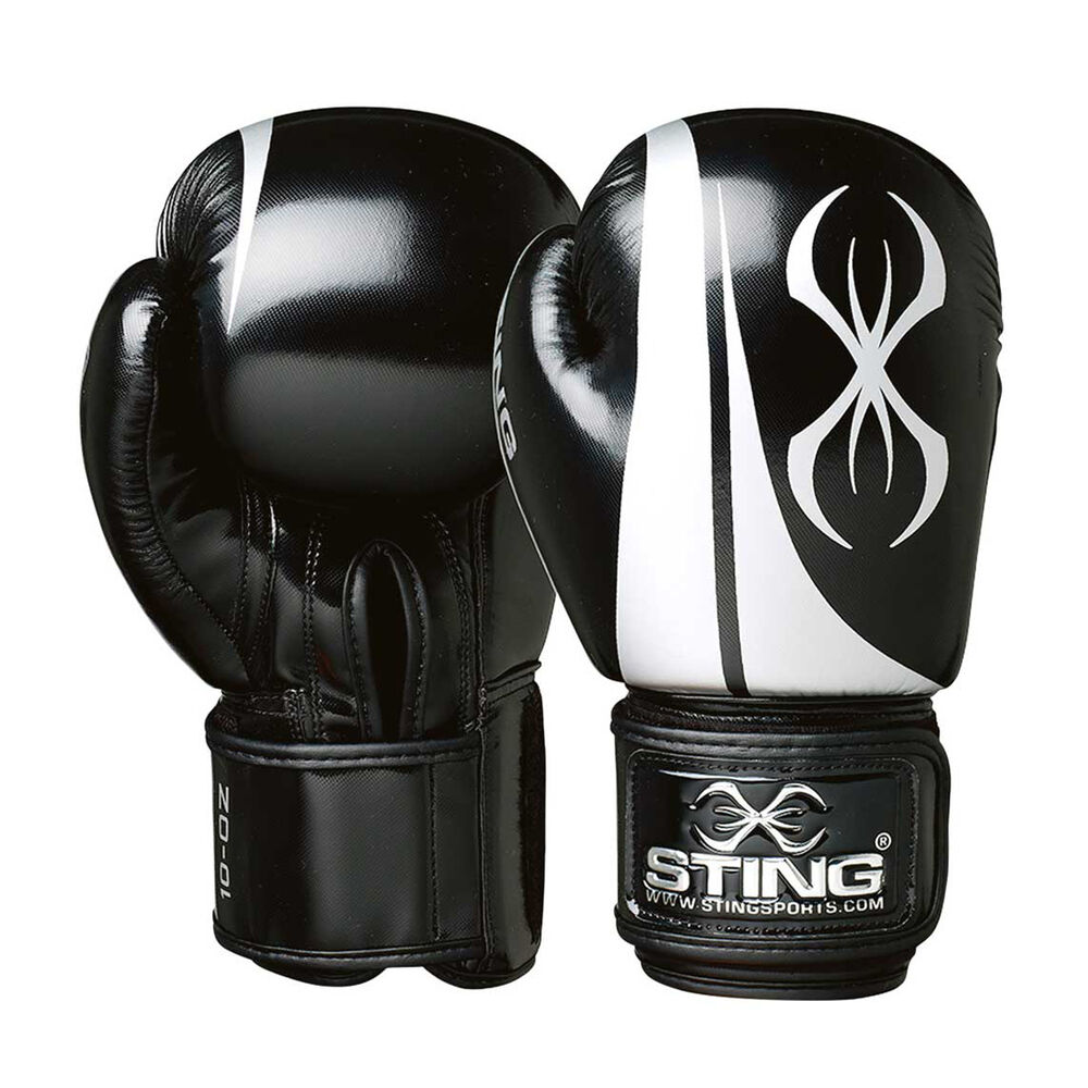 Rebel Sport Inner Gloves: Sting Armalite Boxing Gloves Black / Silver