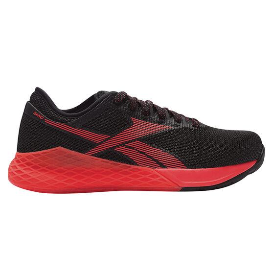 Reebok Nano 9 Mens Training Shoes Black / Red US 8.5, , rebel_hi-res