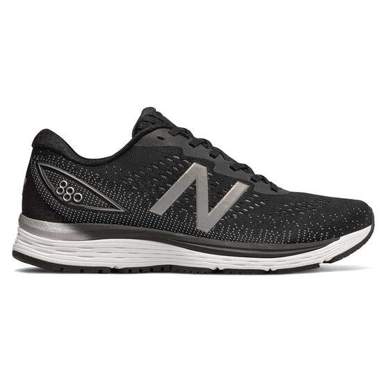 New Balance 880v9 Mens Running Shoes, Black / White, rebel_hi-res