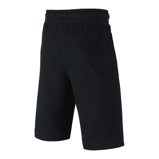 Nike Boys HBR Basketball Shorts, Black / Grey, rebel_hi-res